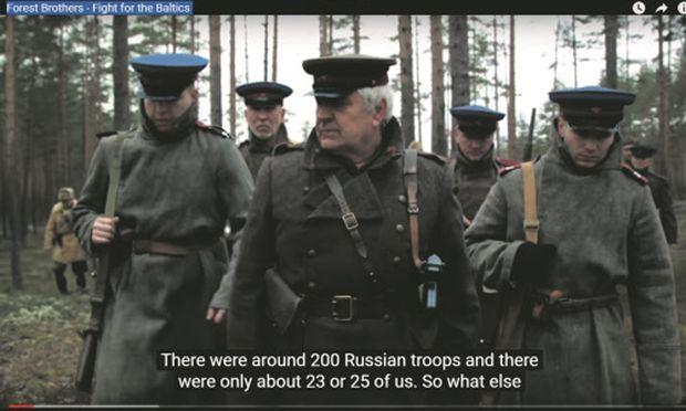 Ein provokantes Nato-Video über die baltischen ''Waldbrüder''