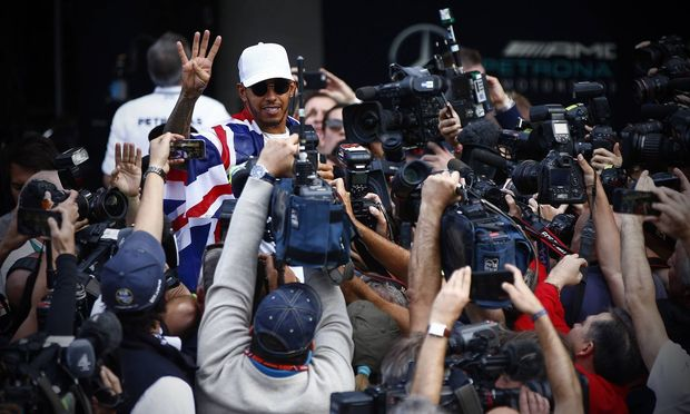 """Der vierte Titel ist eingefahren, Lewis Hamilton aber plant schon für Nummer fünf. """"Ich habe es heuer so genossen wie nie zuvor."""""""
