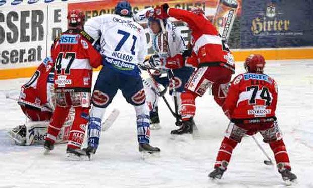 Eishockey-Derby: Villach siegt 3:1 gegen Klagenfurt