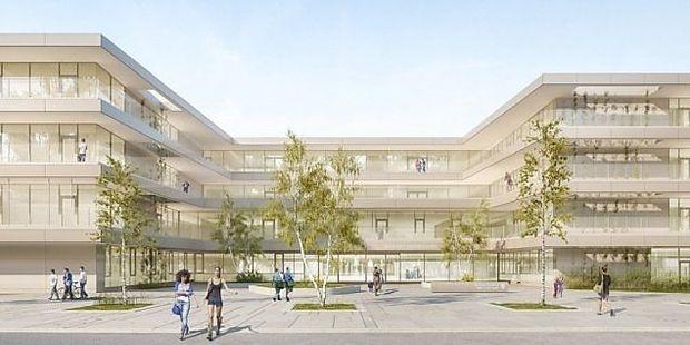 Visualisierung Bildungscampus Seestadt Aspern Nord