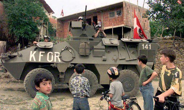 Bundesheer-Vorauskommando im Kosovo eingetroffen
