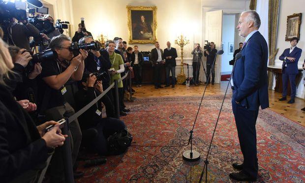 """Josef Moser (am Bild vor seinem ersten Ministerrat am 19. Dezember 2017) wirbt für seine Reform: """"Da geht nichts schief."""""""