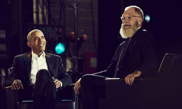 Letterman und Obama saßen sich schon öfter gegenüber.