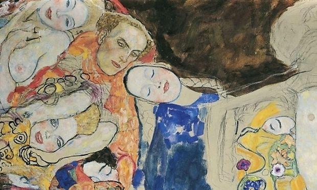 Klimt, Die Braut (unvollendet), 1917/18
