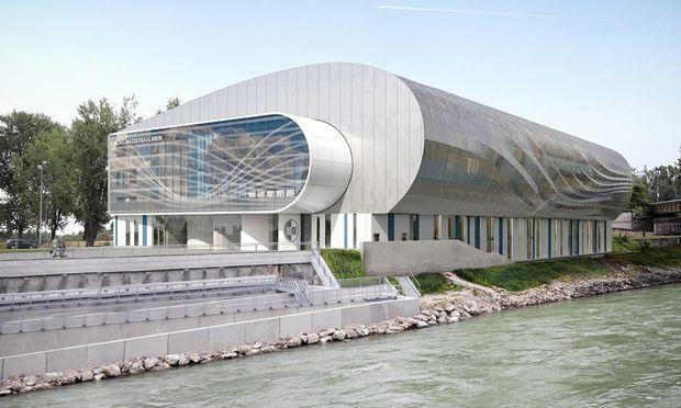 Wasserbaulabor der Wiener Boku: Gelegen am Brigittenauer Sporn soll es ab Ende 2020 für die Experimente von Forschern, Studierenden, Schülern und Hobbytüftlern zugänglich sein.