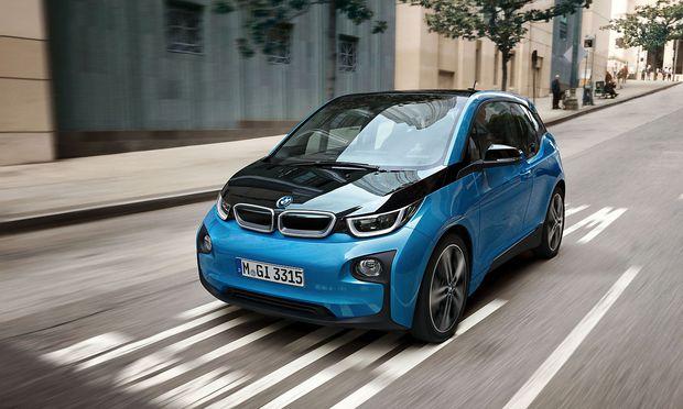 Der vollelektrischen BMW i3