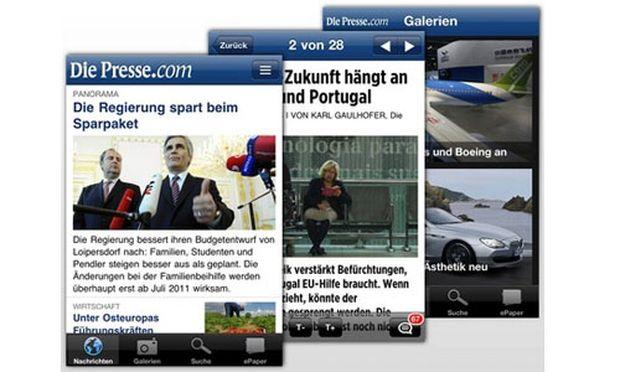 SmartphoneApp Presse ausgezeichnet