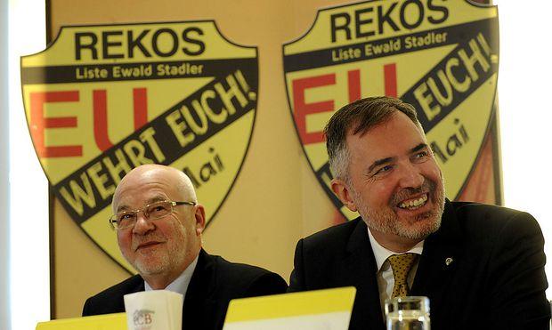 REKOS - GR�NDUNGSPARTEITAG:STADLER/GEHRING
