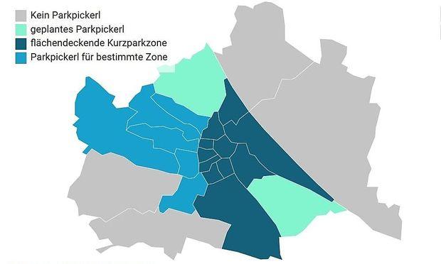 Wo Und Wie Man In Wien Parken Darf Diepressecom
