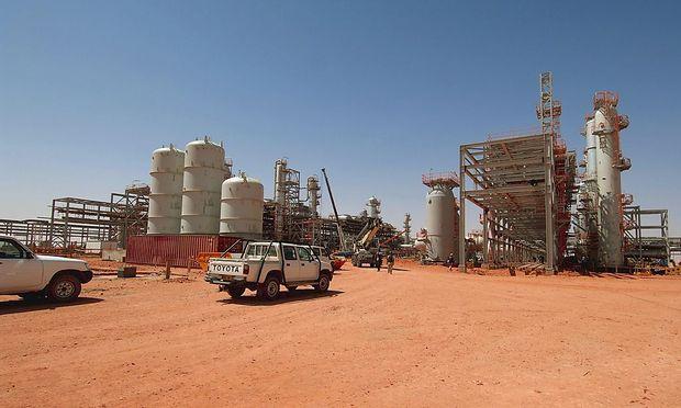 File photo of the Statoil-run gas field in Amenas, Algeria