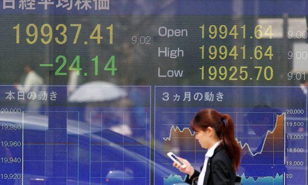 Themenbild: Japans Aktienmarkt