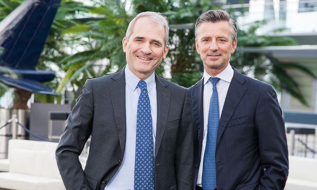 Helmut Gerlich und Werner Zenz