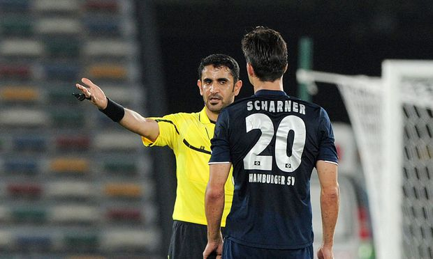 Scharner: Der Ausschluss in Abu Dhabi.
