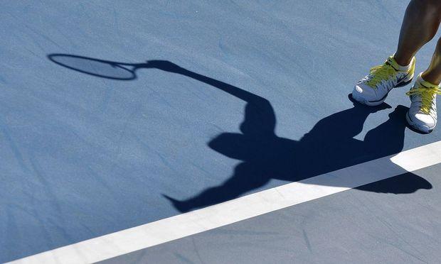 Der lange Schatten im Tiebreak.