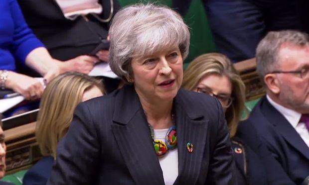 Theresa May beharrt auf ihrer Linie.