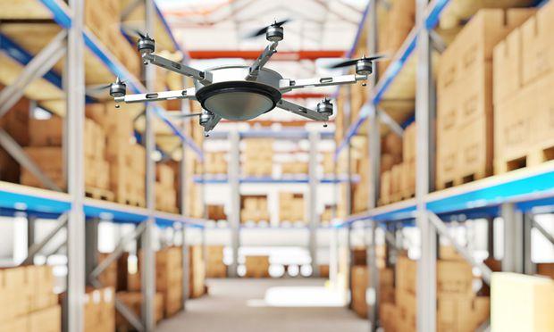 Das Massachusetts Institut of Technology (MIT) entwickelte eine Drohne, die bei der Lagerinventur eingesetzt werden kann.