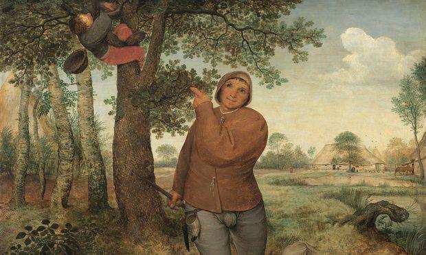 """Die offenen Fragen, die ein Gemälde wie """"Bauer und Vogeldieb"""" aufwirft, machen nicht selten seinen Reiz aus. Gleichzeitig liegen darin die Tücken bei dessen Transformation in ein Relief."""