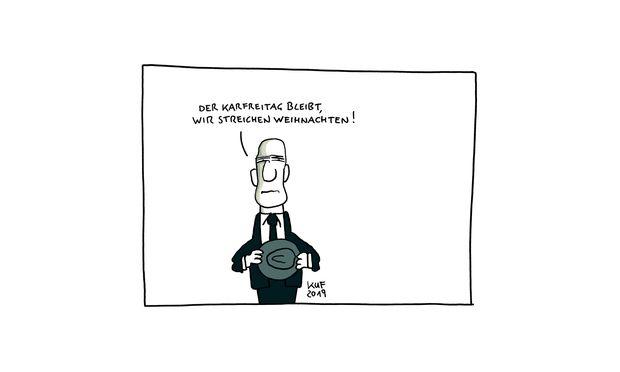 Der Karfreitag In österreich Diepressecom