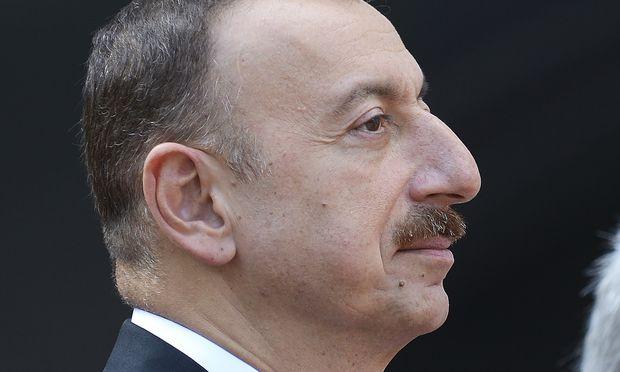 Präsident Ilham Alijew