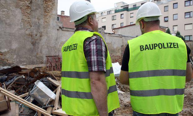 Symbolbild: Baupolizei