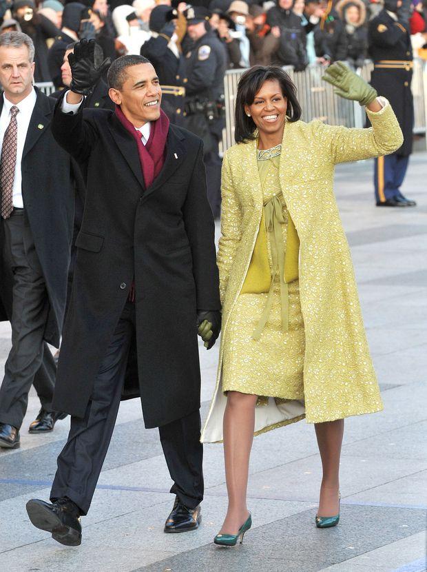 Barack und Michelle Obama 2009 in Washington.