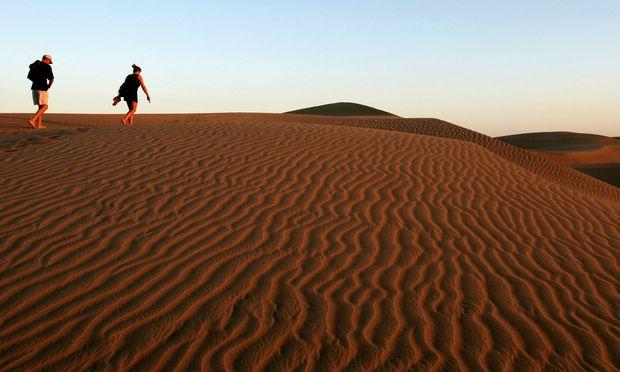Blick über die Dünen von Maspalomas