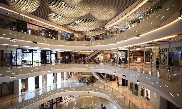 Shopping Center in Shanghai
