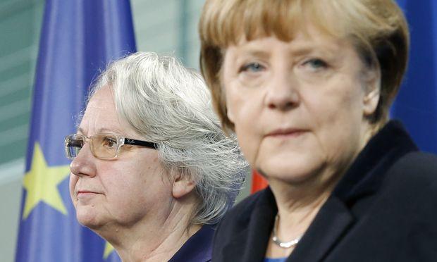 Deutschland Schavan gibt