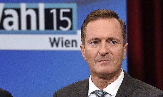 Juraczka in einer ORF-Diskussion am Wahlabend