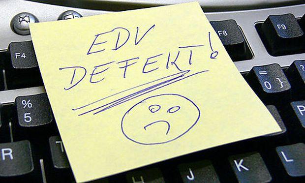 Symbolbild EDV defekt