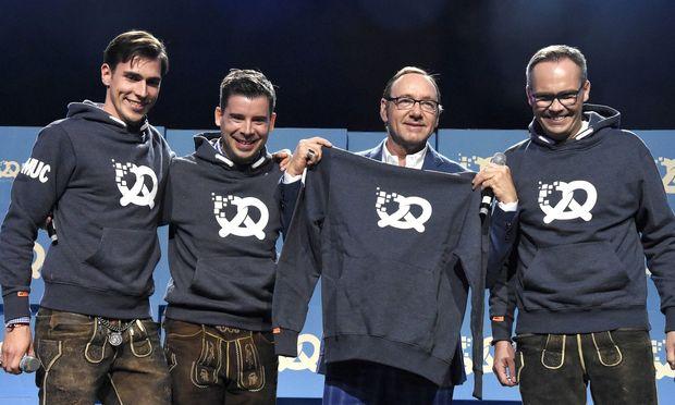 Kevin Spacey wird Partner bei bayerischem Gründerfestival