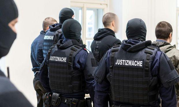 Bild aus dem Landesgericht in Linz