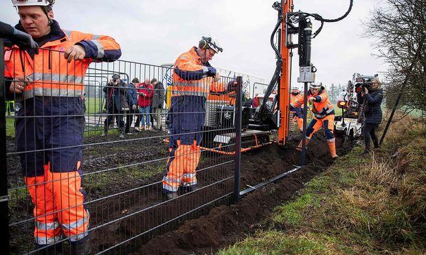 Grenzzaun Zwischen Danemark Und Deutschland Kommt Diepresse Com