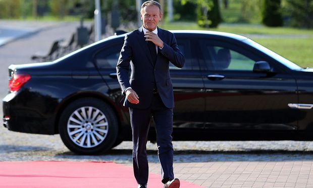 EU-Ratspräsident Tusk in Sofia.