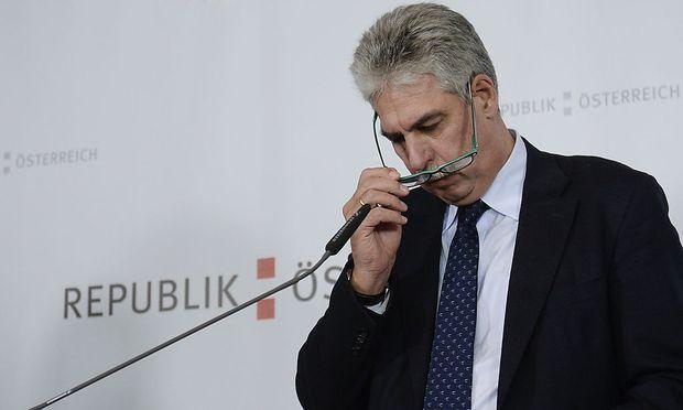 Hypo-Bad-Bank: Finanzminister Hans Jörg Schelling erzielte einen Generalvergleich mit Bayern.