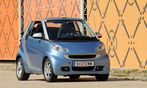 Der Smart Fortwo als Cabrio.