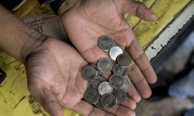 Weil die eigene Währung nichts wert ist, hat Venezuela eine Kryptowährung eingeführt