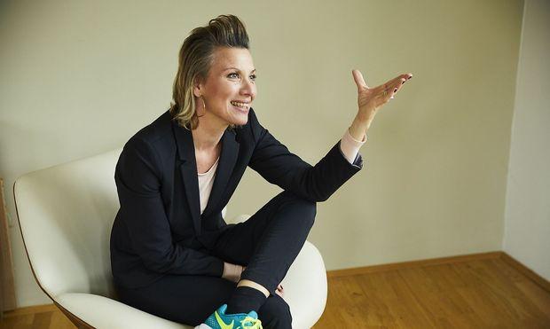 Jutta Perfahl-Strilka ist Director New Business Sales bei Xing. / Bild: (c) Rafaela Proell