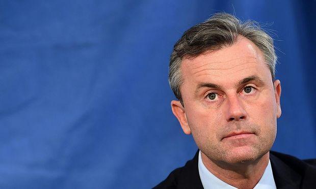 FPÖ-Präsidentschaftskandidat Norbert Hofer