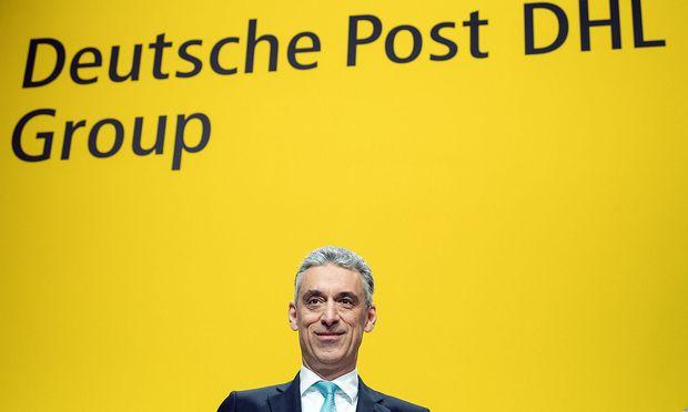 Der Vorstandsvorsitzende der deutschen Post.