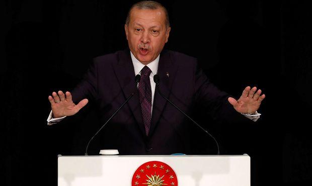 Türkischer Präsident Erdogan