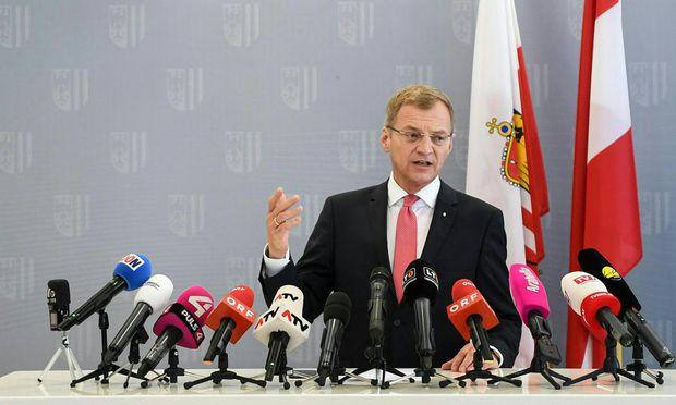 Oberösterreichs Landeschef Thomas Stelzer (ÖVP).