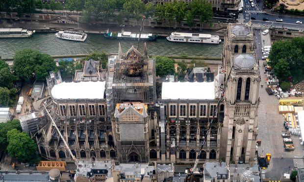 Notre-Dame-Stiftung erhält 15,7 Millionen von Privatpersonen