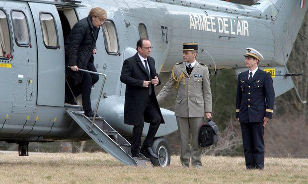 Merkel und Hollande
