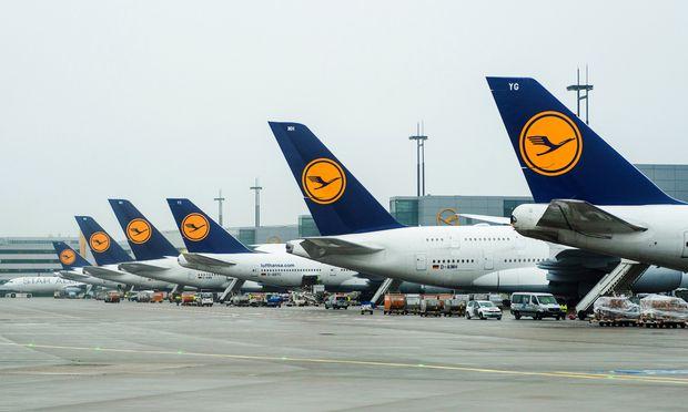 Flugzeuge der Lufthansa