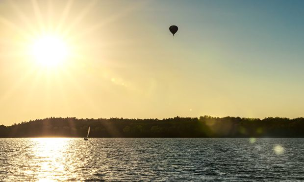 Kann man durchschwimmen: einen von Tausenden Gewässern der Seenplatte.