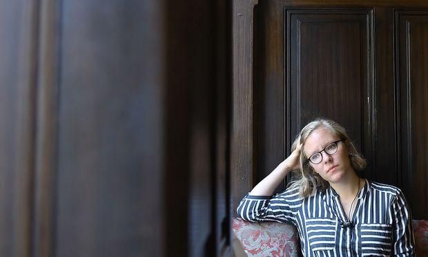 Raphaela Edelbauer: Sie war  vergangenes Jahr beim Ingeborg-Bachmann-Preis die einzige Teilnehmerin aus Österreich.