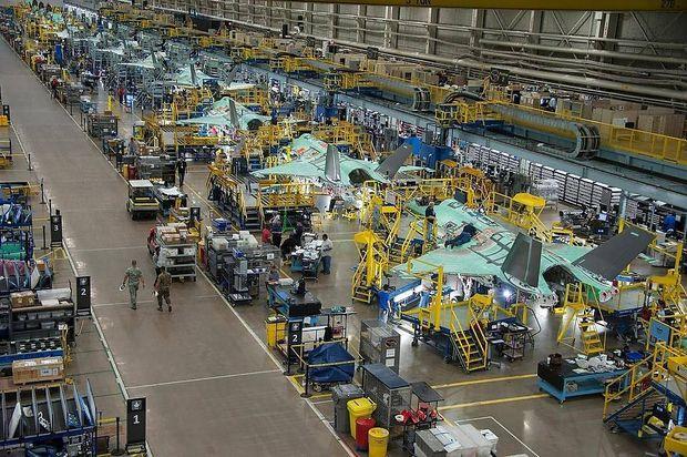 Montage von F-35 in Fort Worth (Texas)