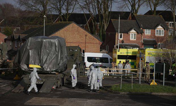 Spuren von Nervengift in Restaurant nach Anschlag auf Ex-Spion gefunden