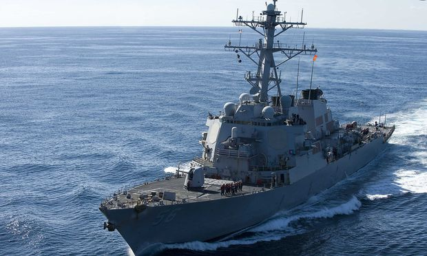 China protestiert gegen US-Kriegsschiff